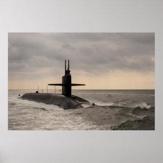 USS Maryland (SSBN 738) Poster