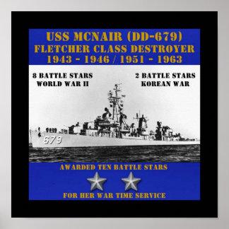 USS McNair (DD-679) Impresiones