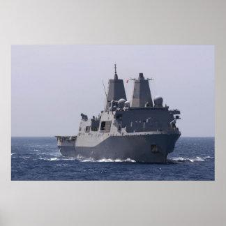 USS Mesa Verde (LPD 19) Poster