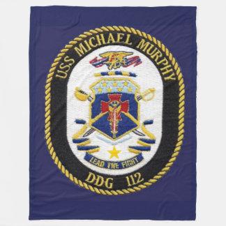 USS MICHAEL MURPHY  FLEECE BLANKET