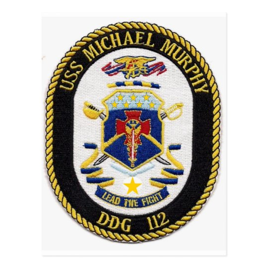 USS MICHAEL MURPHY POSTCARD