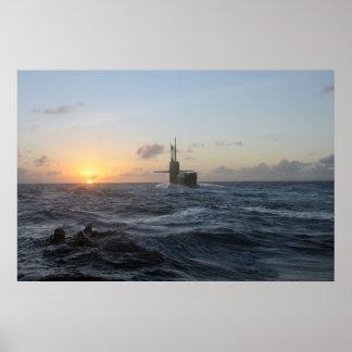 USS Michigan SSGN 727 Print