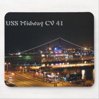 USS Midway CV41 Mouse Mat