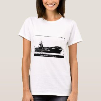 USS MIDWAY CVB-41, Navy Ship T-Shirt