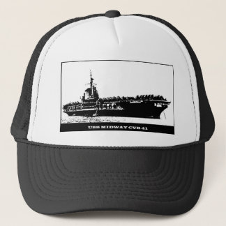 USS MIDWAY CVB-41, Navy Ship Trucker Hat