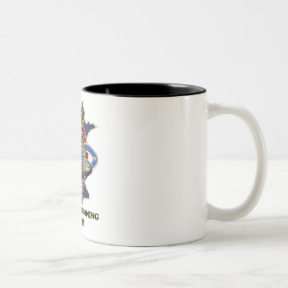 USS Minnesota Pre-Commissioning Unit Two-Tone Coffee Mug
