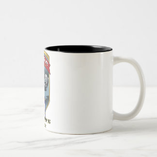 USS Mississippi Pre-Commissioning Unit Crest Two-Tone Coffee Mug