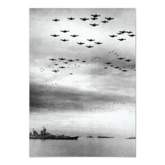 USS Missouri Flyover Surrender of Japan Card