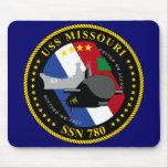 USS Missouri Mousepad Tapete De Ratón