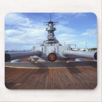 USS Missouri, Pearl Harbor, Oahu, Hawaii Mouse Pad