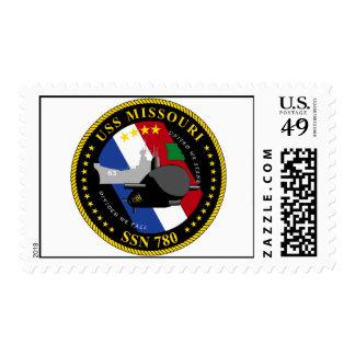 USS Missouri Postage Stamps