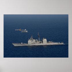 USS Mobile Bay (CG 53) Poster
