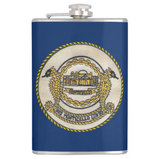 USS MONTICELLO (LSD-35) HIP FLASK