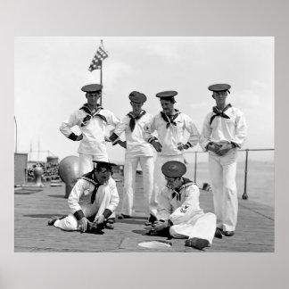 USS Nahant Póster