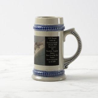 USS NASSAU LHA-4 COFFEE MUGS