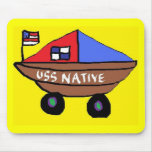 USS NATIVE MOUSE PADS
