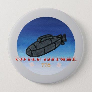 USS New Hampshire submarine navy Button