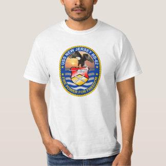 USS New Jersey BB-62 Tee Shirt