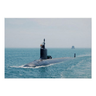 USS New Mexico (SSN 779) Poster