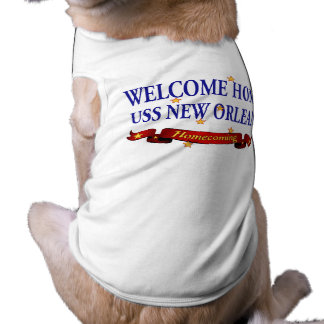 USS New Orleans casero agradable Playera Sin Mangas Para Perro