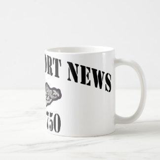 USS NEWPORT NEWS COFFEE MUG