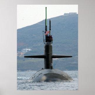 USS Newport News (SSN 750) Poster