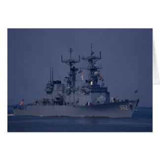 "USS Nicholson"", spruance class destroyer Card"