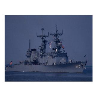 "USS Nicholson"", spruance class destroyer Postcard"
