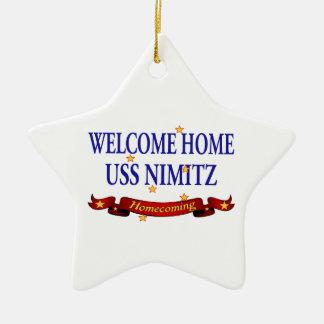 USS Nimitz casero agradable Ornamento Para Arbol De Navidad