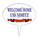 USS Nimitz casero agradable Palillos De Tarta
