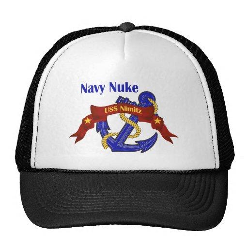 ~ USS Nimitz del arma nuclear de la marina de guer Gorras
