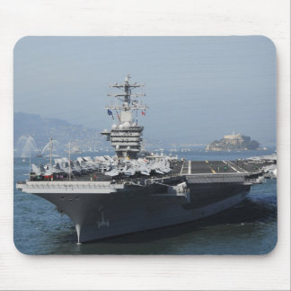 USS Nimitz Mouse Pad