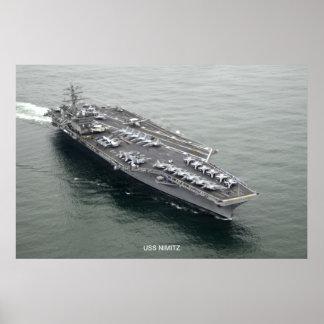 USS Nimitz Poster