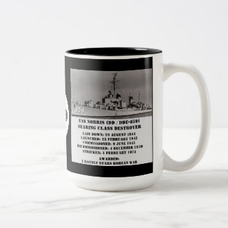 USS Norris (DD-859) Coffee Mug