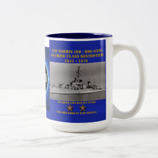 USS Norris (DD-859) Mugs