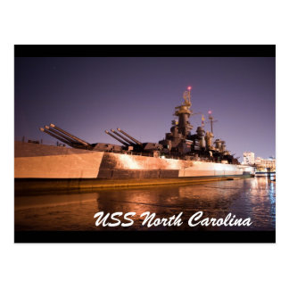 USS North Carolina Postcard