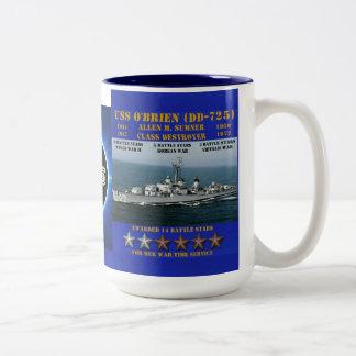 USS O'Brien (DD-725) Taza