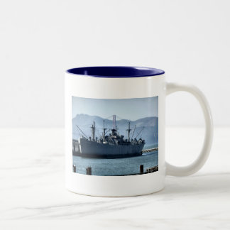 USS O'Brien Two-Tone Coffee Mug