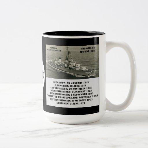 USS O'Hare (DD-889) Coffee Mugs