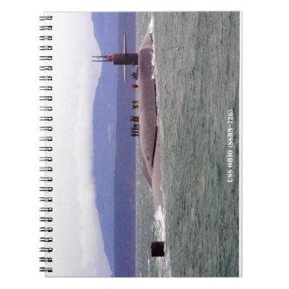 USS OHIO NOTEBOOK