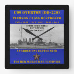 USS Overton (DD-239) Clock