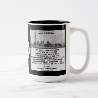 USS Overton (DD-239) Coffee Mug