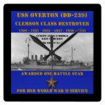 USS Overton (DD-239) Reloj