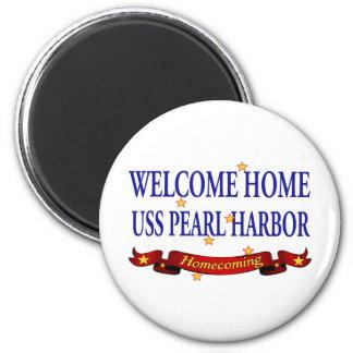 USS Pearl Harbor casero agradable Imán Redondo 5 Cm