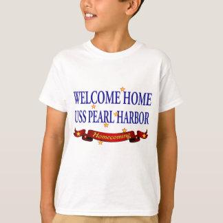 USS Pearl Harbor casero agradable Playera