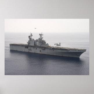 USS Peleliu (LHA 5) Póster