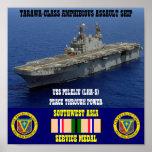 USS PELELIU (LHA-5) POSTER