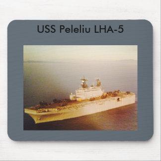 USS Peleliu mouse pad