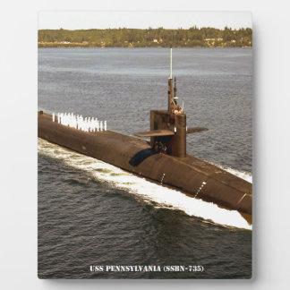 USS PENNSYLVANIA PLAQUE