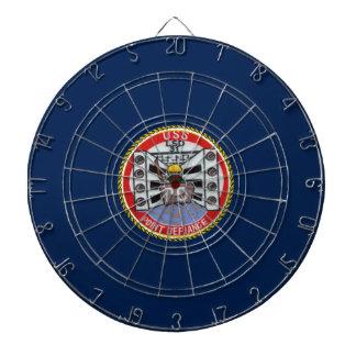 USS POINT DEFIANCE (LSD-31) DART BOARD